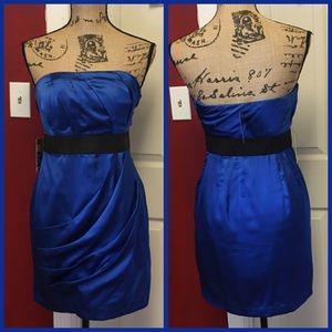 2 for $50-NWT express sapphire strapless dress